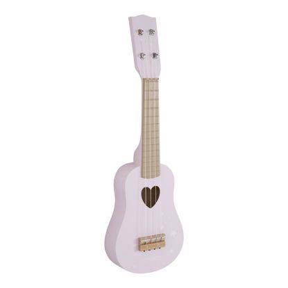 Holz Gitarre - adventure pink
