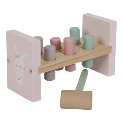 Holz Hammerbank - adventure pink