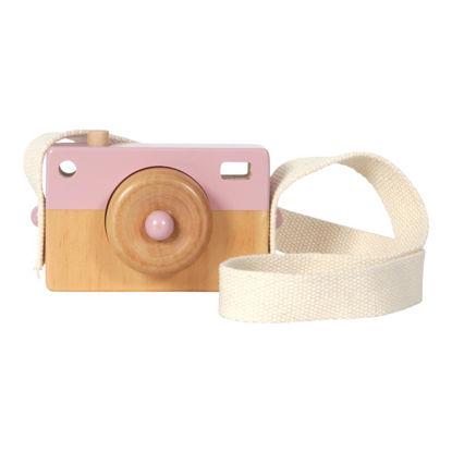 Holz-Kamera - adventure pink