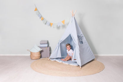 """<font style=""""vertical-align: inherit;""""><font style=""""vertical-align: inherit;""""> Tipi tent - blue</font></font>"""