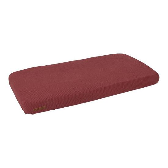 Spannbetttuch 70x140/150 - Pure Indian Red