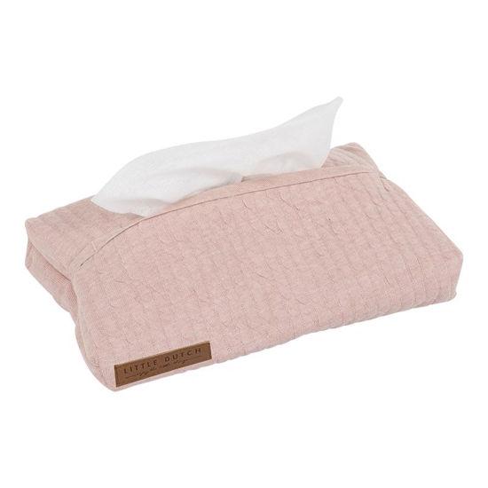 Stoff-Feuchttücherbezug - Pure Pink
