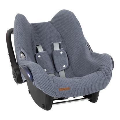 Babyschalenbezug  0+ - Pure Blue