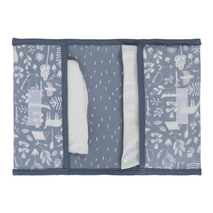 Reisetasche für Windeln & Feuchttücher  - Adventure Blue