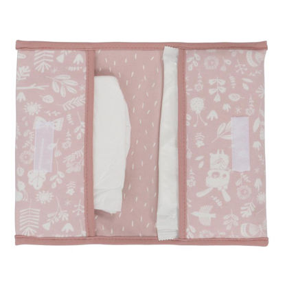 Reisetasche für Windeln & Feuchttücher  - Adventure Pink