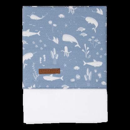Bettlaken - Ocean Blue