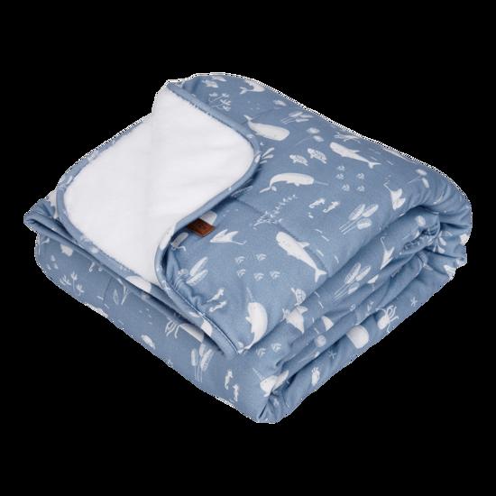Softe Baby & Kinderdecke - Ocean Blue