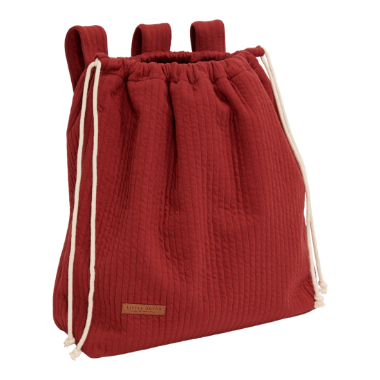 Toy bag - Pure Indian Red