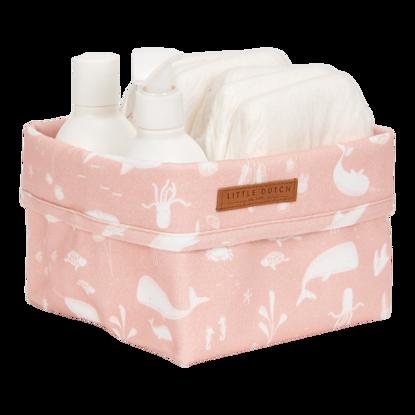 Baby Aufbewahrungsbox, klein - Ocean Pink