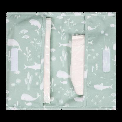 Reisetasche für Windeln & Feuchttücher  - Ocean Mint
