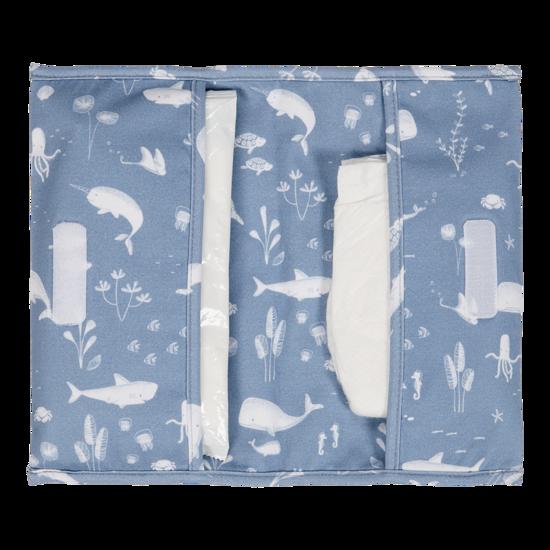 Reisetasche für Windeln & Feuchttücher  - Ocean Blue