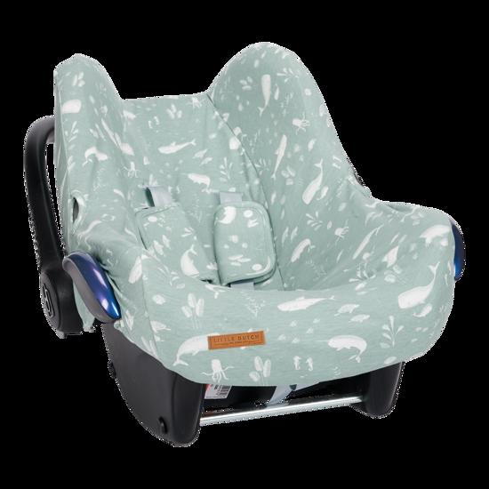 Babyschalenbezug  0+ - Ocean Mint