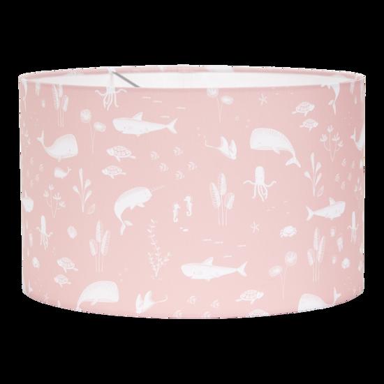 Hängelampe rund - ocean pink