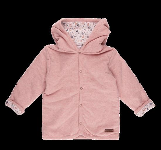 Bild von Baby-Jacke melange rosa  - spring flowers - 56