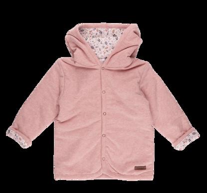 Bild von Baby-Jacke melange rosa  - spring flowers - 74