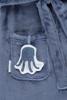 Bild von Baby-Bademantel blau - ocean - 74/80