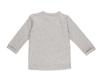 Bild von Baby-Wickelshirt melange grau - 68