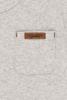 Bild von Tshirt langen Ärmeln melange grau - 74
