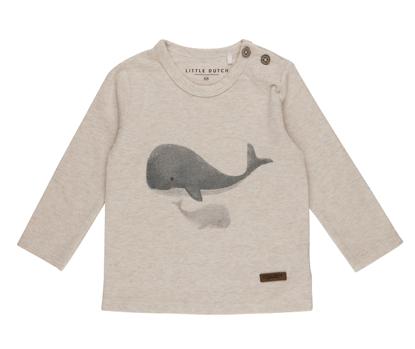 Bild von Tshirt langen Ärmeln Wal - ocean - 74
