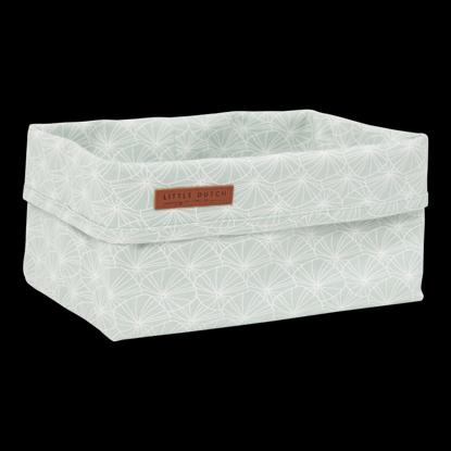 Bild von Baby Aufbewahrungsbox, gross - Lily Leaves Mint