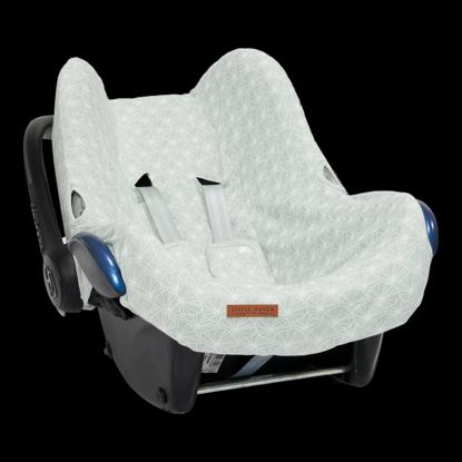 Bild von Babyschalenbezug  0+ - Lily Leaves Mint