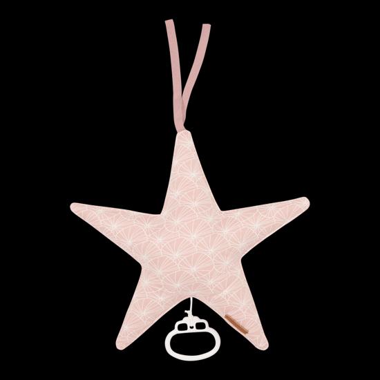 Bild von Spieluhr Stern - Lily Leaves Pink