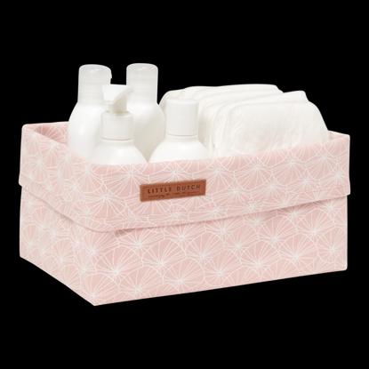 Bild von Baby Aufbewahrungsbox, gross - Lily Leaves Pink