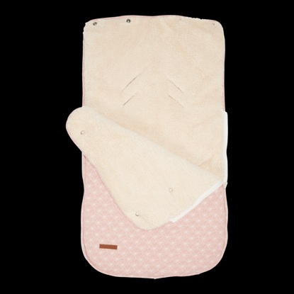 Bild von Einschlagdecke 0+ - Lily Leaves Pink