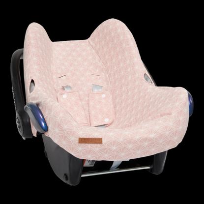 Bild von Babyschalenbezug  0+ - Lily Leaves Pink
