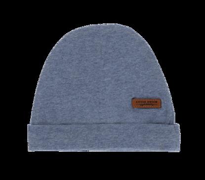 Bild von Mütze melange blau - 2
