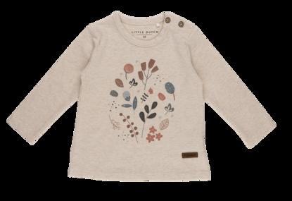 Bild von Tshirt langen Ärmeln mit Aufrduck - spring flowers - 74