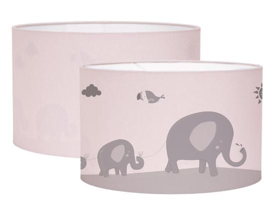Bild von Hängelampe Silhouette - zoo pink