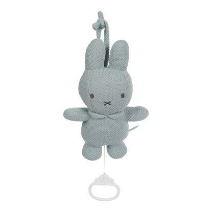 Bild von Spieluhr Miffy grün Strick