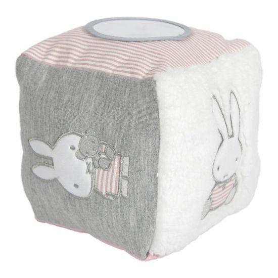 Bild von Miffy Activity - Würfel  Pink baby rib
