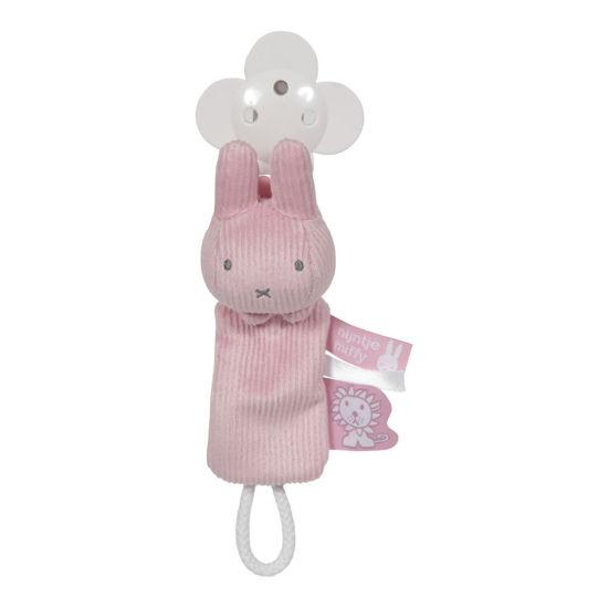 Bild von Miffy Schnullerkette  Pink baby rib