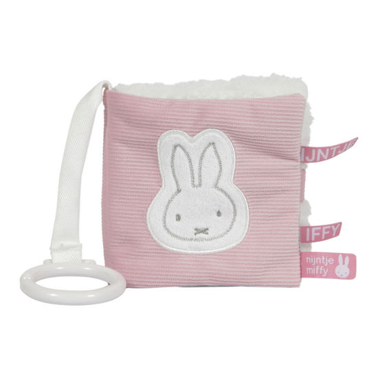 Bild von Miffy Activity Fühlbuch Pink baby rib
