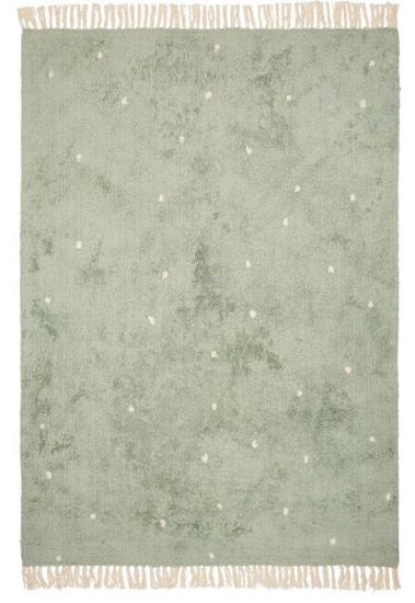 Bild von Teppich Pure mint dot 170x120cm