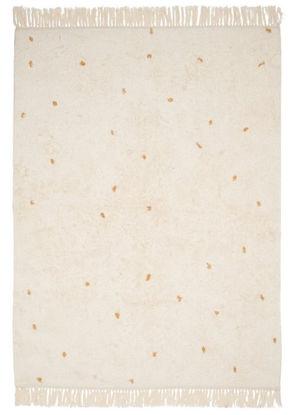Bild von Teppich Pure natural/ ochre dot 170x120cm