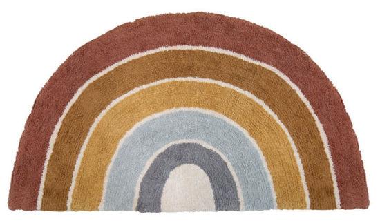 Bild von Teppich Regenbogen Form Pure & Nature 80x130cm