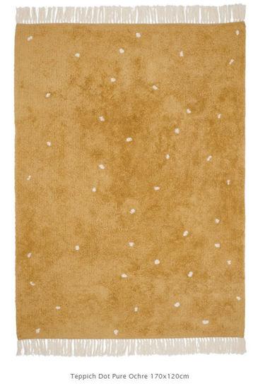 Bild von Teppich Pure ochre dot 170x120cm