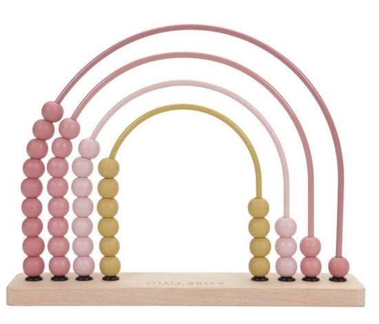 Bild von Regenbogen-Abacus pink