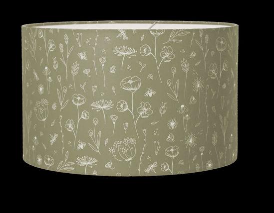 Bild von Lampe wild flowers Olive