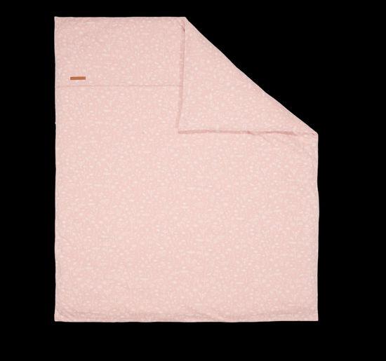 Bild von Bezug für Wiegedecke Wild Flowers Pink