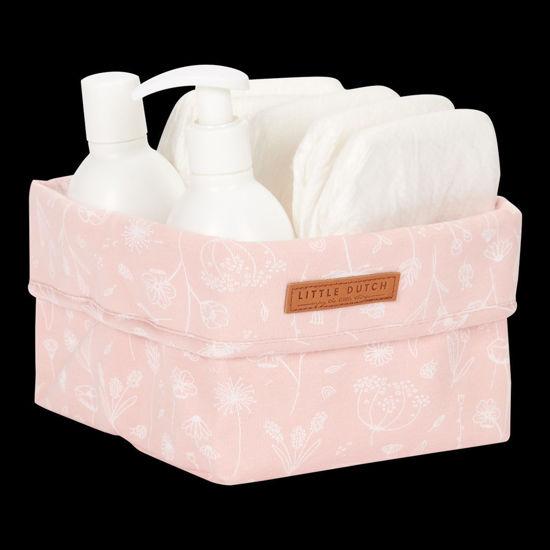 Bild von Pflegekörbchen klein Wild Flowers Pink