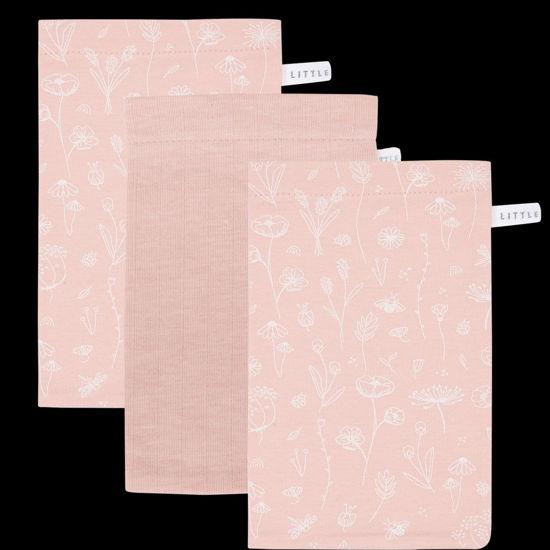 Bild von Waschhandschuhe Set Wild Flowers Pink
