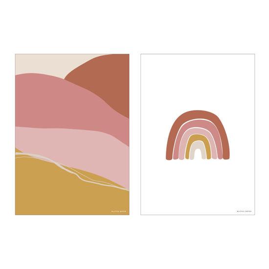 Bild von Poster Horizon Pink